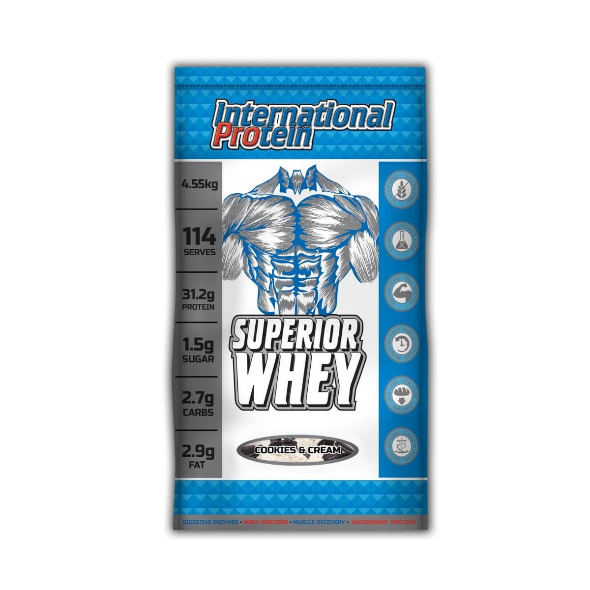 International protein Superior Whey 10lbs