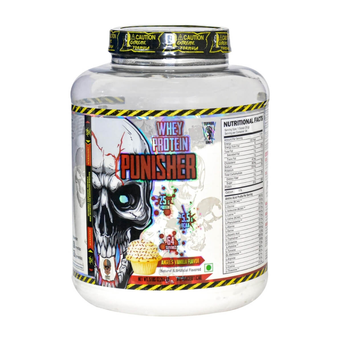 Terror Labz Whey Protein Punisher