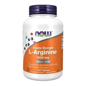 Now Foods Arginine, 120 Count