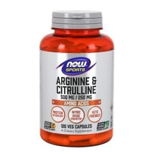 Now Foods Arginine and Citrulline Veg
